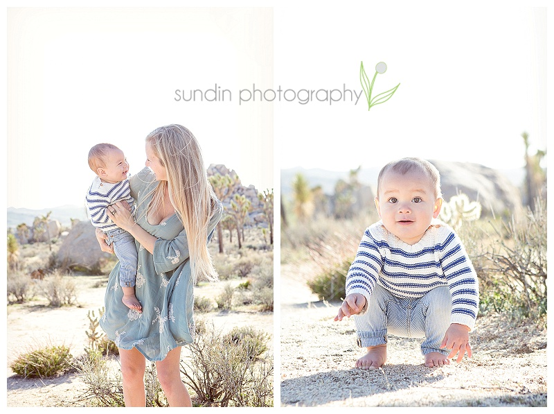 desert family photography